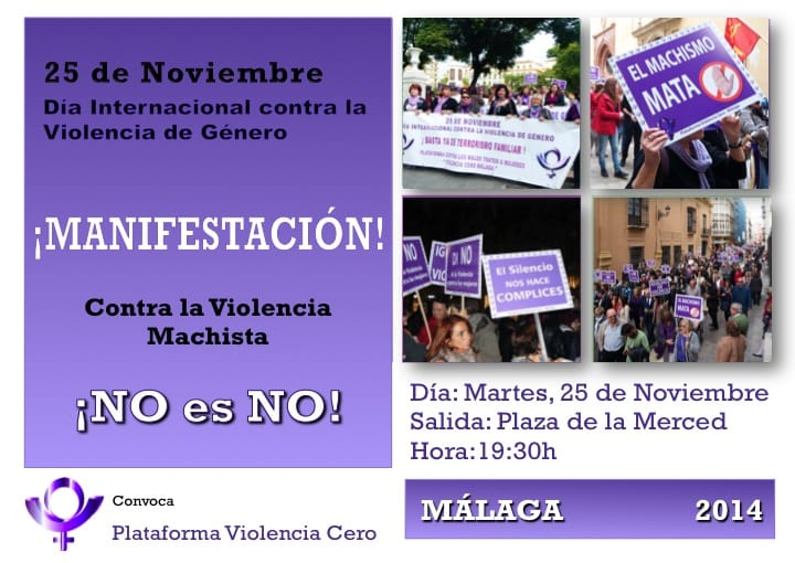Manifestación del 25 de Noviembre de 2014