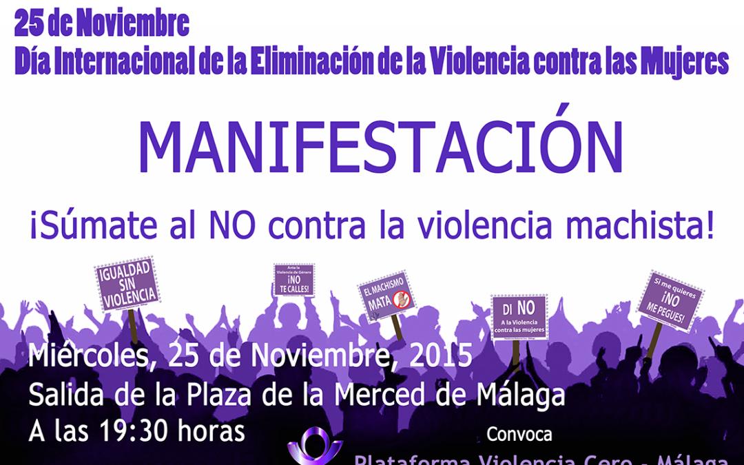 Manifestación del 25 de Noviembre de 2015